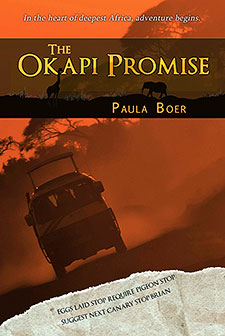 The Okapi Promise by Paula Boer Book of the Week
