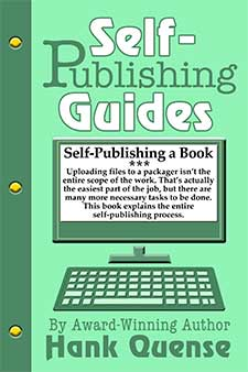 self publishing a book by hank quense Book of the Week