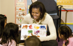 MIchelle Obama 300x191 School Food   Is It As Bad As They Say?