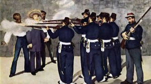 firing squad manet 300x168 Some Opinions May Kill 