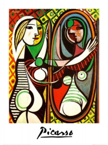 GirlbeforeMirror Picasso 224x300 Psychology Poetry Online Online Writing  Review: Sculpting the Hearts Poetry