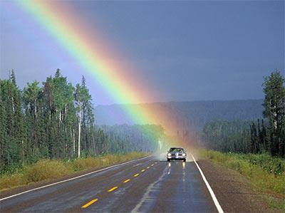 rainbow Riding On A Rainbow