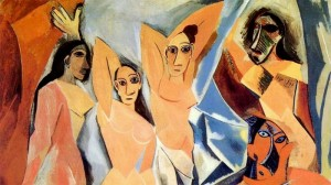 Les Demoiselles dAvignon by Picasso 300x168 Love or Infatuation?