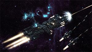 space vessel Serial Story  Angular Trifecta (41): Menace á Trois