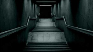 dark stairway 300x169 In Nothing