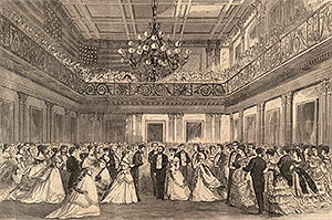 President Grants inaugural ball March 1869 The Inaugural Ball