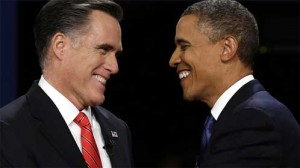 mitt and barack 300x168 Healthcare  The First Debate