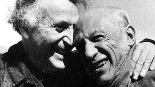 Chagall and Picasso Spirituality Poets and Writers Creative Writing AmWriting  If it Looks and Sounds Like a Poem