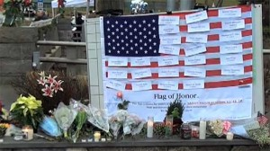 Newtown Memorial 300x168 Healthcare  See Something Scary? Look for Helpers!