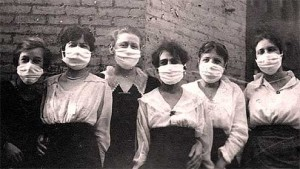 flu 1918 nurses 300x169 Writers Traditions People and Society Life Healthcare  The Deadliest Flu in History (2)