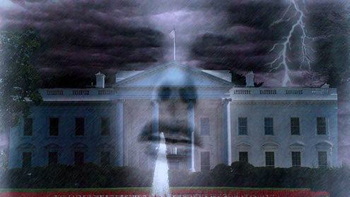 Ghost in the White House United States Politics Mystery Ghost Stories  A Ghost in the White House? (1)
