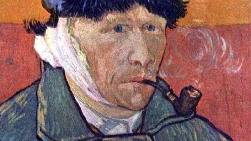 van gogh self portrait with bandaged ear and pipe The Story Behind van Goghs Self Portrait with Bandage