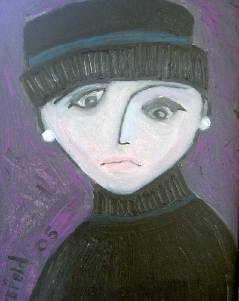 Unrequited Love sad-woman-bernadette-brefeld