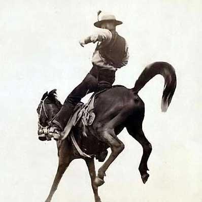Back in the Saddle Again, Back in the Saddle Again!