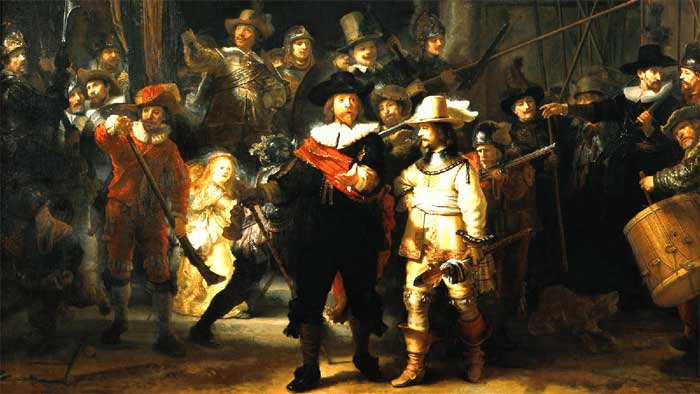 The Rembrandt van Rijn Mystique - The Nightwatch