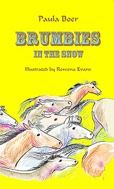 Brumbies in the Snow