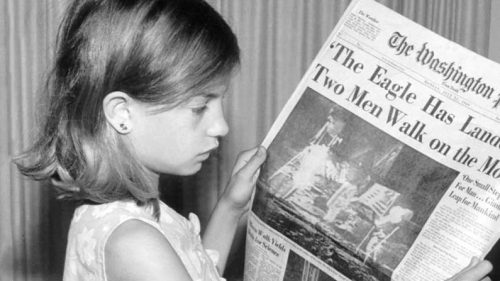 Practice Makes Perfect or Permanent - girl-reading-newspaper