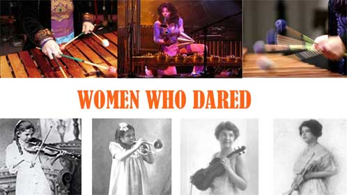 Women, From Silence to Stardom: Women Who Dared