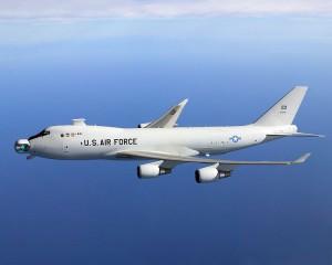 YAL-1A Airborne Laser unstowed