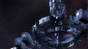 Angular Trifecta space station