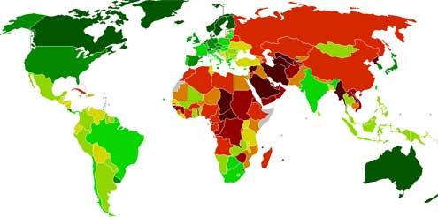 Democracy-Index-2011-red-and-green