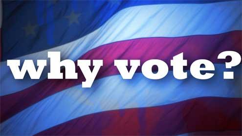 why vote, Why Vote?