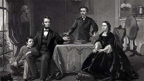 Lincoln-and-family