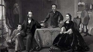 Lincoln and family 300x168 The Mary and Robert Lincoln Tragedy