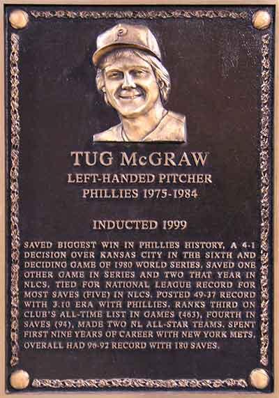 Tug McGraw Baseball