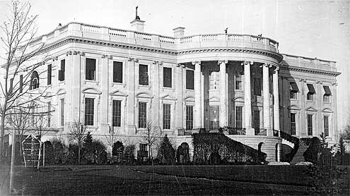 first-photo-of-the-White-House