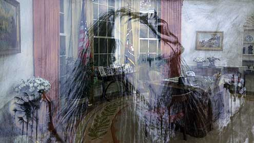 ghost, A Ghost in the White House? (2)