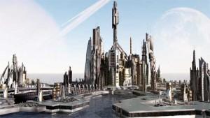 futuristic-townscape