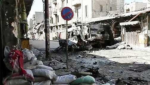 Aleppo-arab-spring