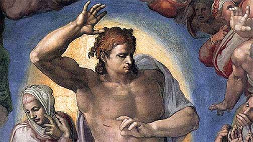Michelangelo's Jesus