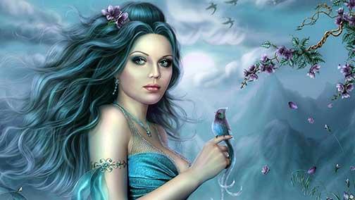 blue-dress spellbound