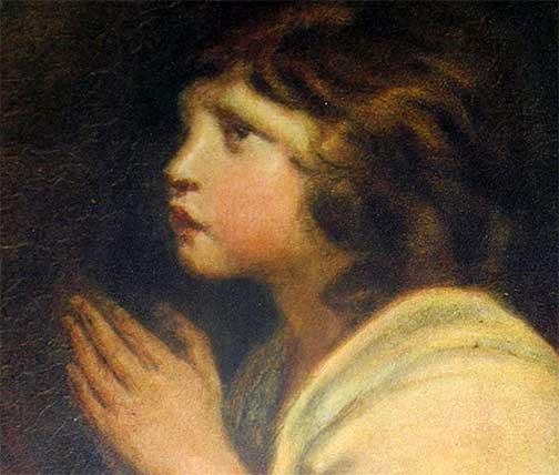 praying-girl