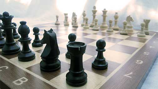 English through Chess, English through Chess