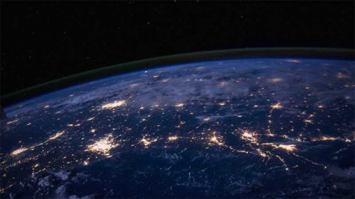 Nighttime Image of Southern States