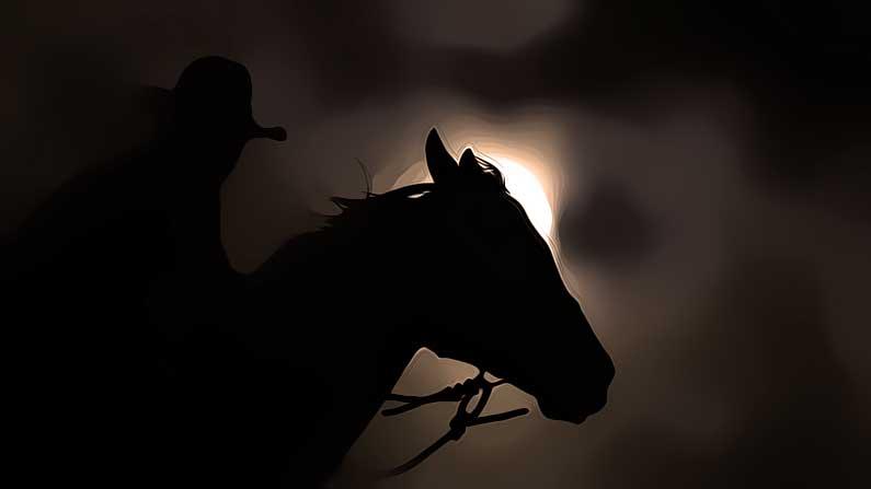 moon, A Cowboy's Moon Light Ride