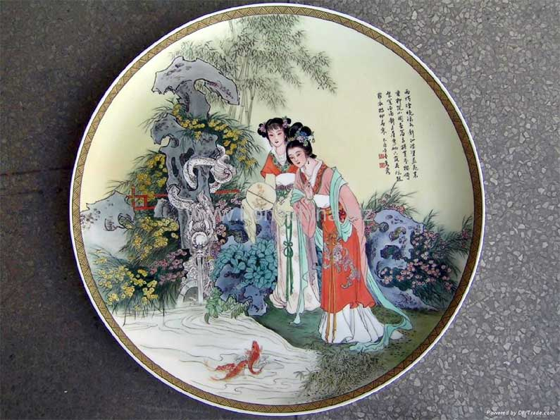 Plate-of-Bone-China