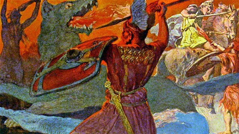 Odin, Odin Wolf's Wail