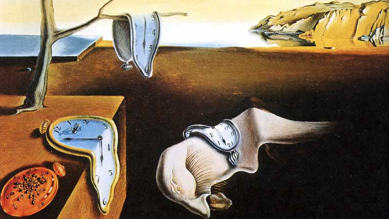The Persistence of Memory - Salvador Dali