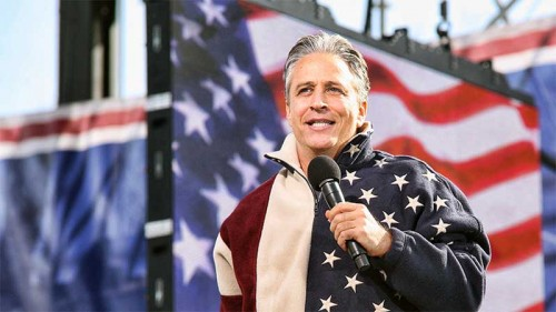 Jon Stewart, Jon Stewart Takes on Everyone