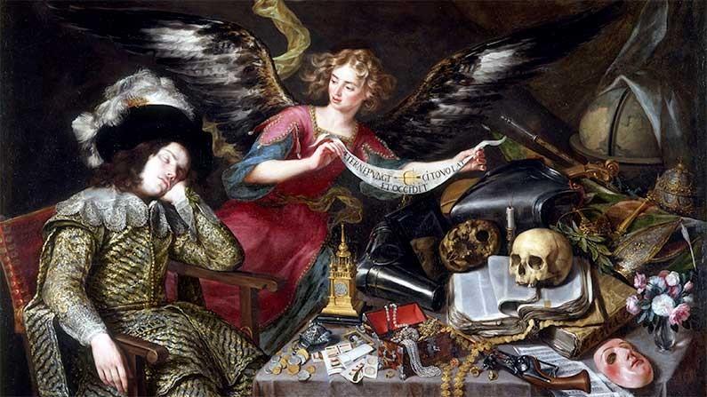 The-Knights-Dream-1655-by-Antonio-de-Pereda