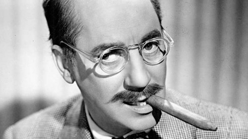 We Need Humor to Bumper the Pain in Our Hearts - Groucho-Marx