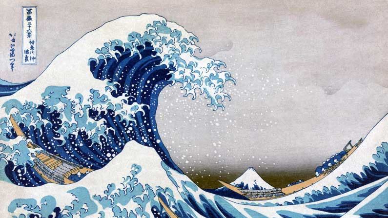 Hokusai - The Great Wave off Kanagawa