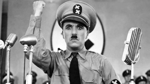 Academic freedom Charlie Chaplin as Adenoid Hynkel in the film The Great Dictator 1940
