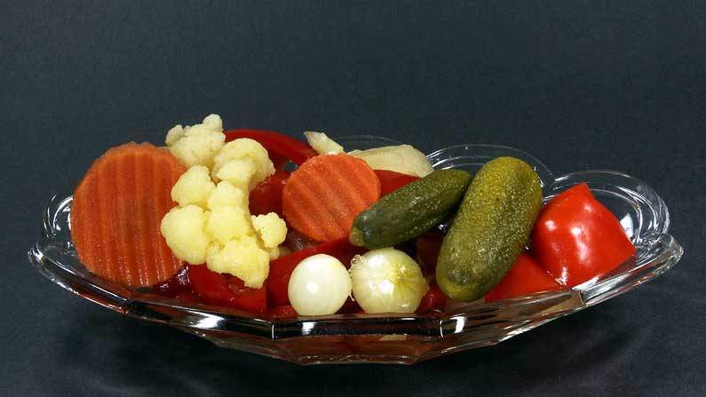 The Whimsical Pickle - salad-with-pickle