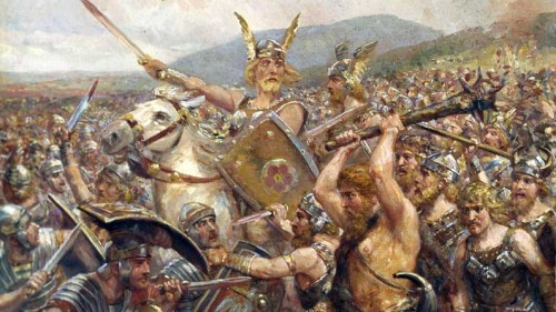 Teutoburg Forest, The Romans Lose in the Teutoburg Forest