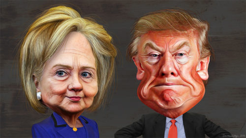 The Dark Side of Winning - Hillary Clinton vs. Donald Trump